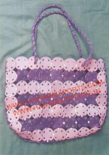 Ladies Leather Handbag (HE-LBA-01)