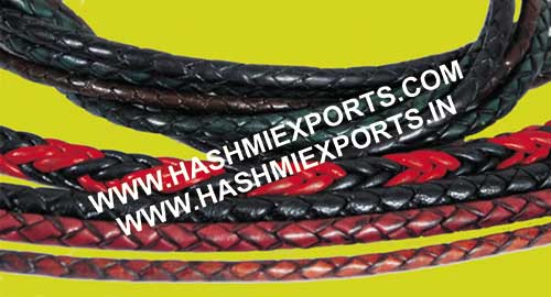 Round Braided Leather Cords (HE-RBLC 1)