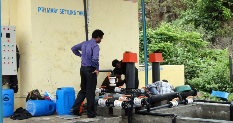 Water Treatment Plant Repairing Services