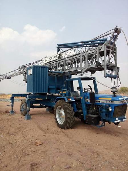 2418 SP 453 ALPHA Mobile Tower Crane Manufacturer in Delhi India by