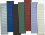 Custom Color Painted Shutters