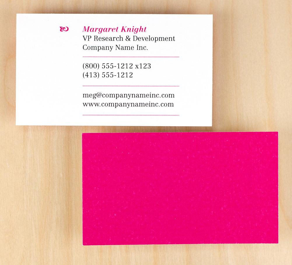 Custom Premium Business Cards