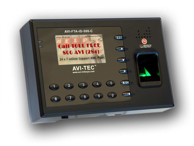 biometric time attendance