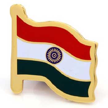 Indian Flag Lapel Pins - Custom Made Manufacturer in Delhi