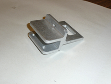 CNC Milling of Extruded Aluminum Day Gate Latch