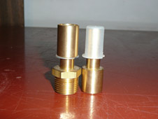 Custom Machined Brass Fitting