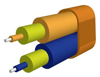 Flat Duplex Cable