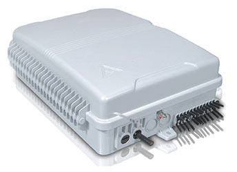 IP65 24 Fibre Plastic Wall Box