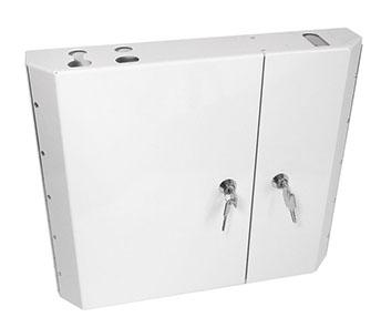 Metal Double-Door Lockable Wall Box
