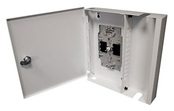 Metal Single-Door Lockable Wall Box