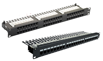 Right Angle Patch Panel