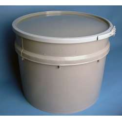 Gallon Grey Plastic Drum