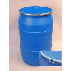 Gallon Open Head Plastic Drum with Plain Bolt Ring Cover