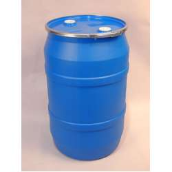 Gallon Plastic Drum and Lever Lock Cover with Fittings