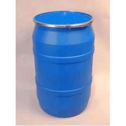 Gallon Plastic Drum With Plain Lever Lock Cover