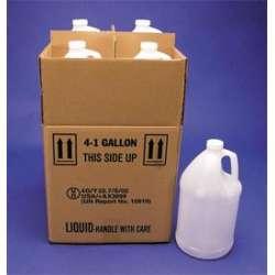 Gallon Polyethylene Bottles With Shipping Box