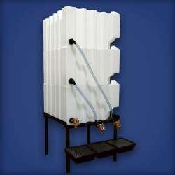 Gallon Tote A Lube Storage System