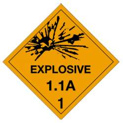 Hazardous DOT Labels
