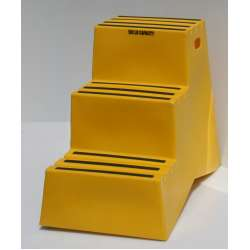 Industrial Portable Three Step Stool
