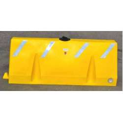 Poly-Cade Barrier Yellow