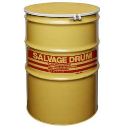 Steel Salvage Drum