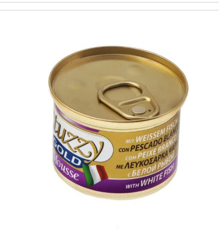 Stuzzy Gold Can Cat food Manufacturer in Dubai United Arab Emirates