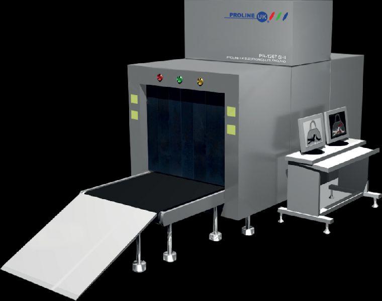 X ray Baggage Scanner and Walkthrough Gates