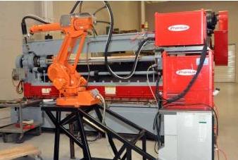 Fronius MIG Robotic Welder