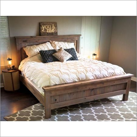Wooden Double Bed Manufacturer in Jodhpur Rajasthan India by ...
