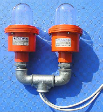 LOW INTENSITY DOUBLE LED OBSTRUCTION LIGHT