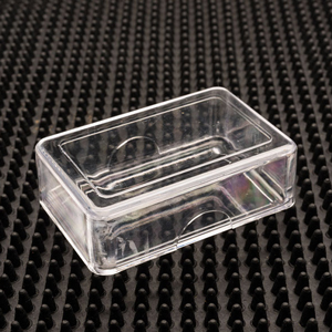 Friction Fit Plastic Craft Boxes and Lids