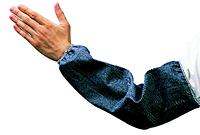 Blue Denim Sleeves Elastic