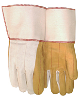 Cuff Starched Gauntlet Gloves