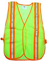 Fluorescent Green Safety Vest