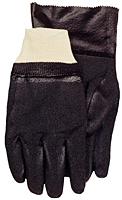 PVC Crinkle Finish Gauntlet Gloves