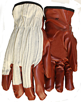 Shirred Elastic Back Gloves