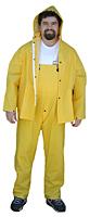 Yellow Rainsuit Coverall Pants