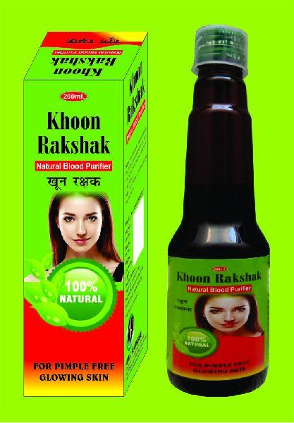 Khoon Rakshak Natural Blood Purifier Syrup