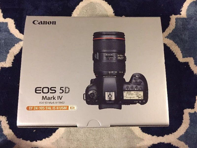 Canon EOS 5D Mark IV 30 MP Digital SLR Camera (C5I01)