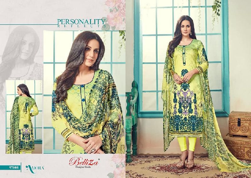 4fe04e16485 belliza amora pure jam silk satin printed suits Manufacturer in West ...