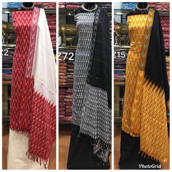 7d69fae22c Pochampally ikkat cotton dress materials Manufacturer in West Bengal ...
