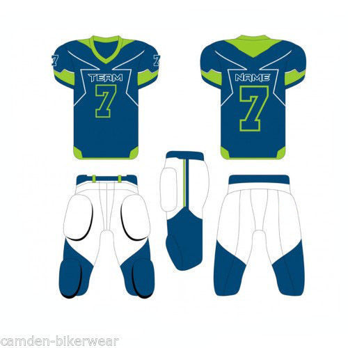 8dc42105503 customise American Football Uniform Custom Sublimation Set Jersey and Pant  Adult Youth (MAF-004)