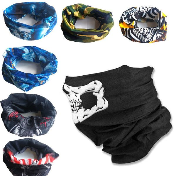 Motorcycle Motorbike Bikes Bicycle Cycling Outdoor Neck Tube Scarf Balaclava