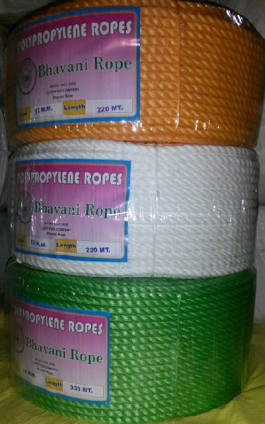 Polypropylene Ropes Manufacturer in Bhavnagar Gujarat India by