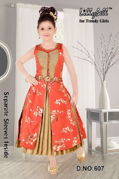 Fancy Parti Long Frock Manufacturer In Kolkata West Bengal India By Shreyasi Fashion Id 3623336