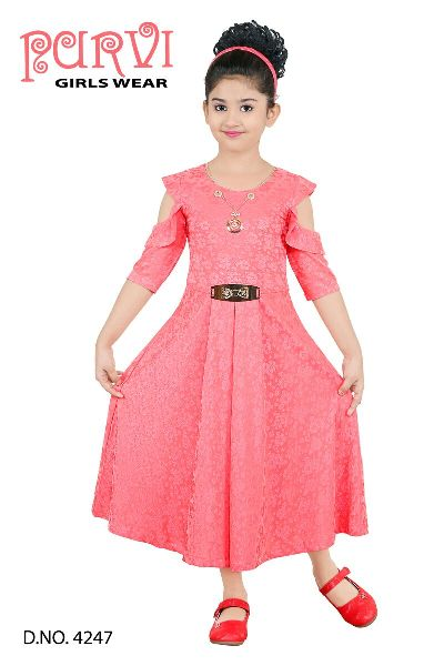 Long Frock Manufacturer In Kolkata West Bengal India By Shreyasi Fashion Id 3694608