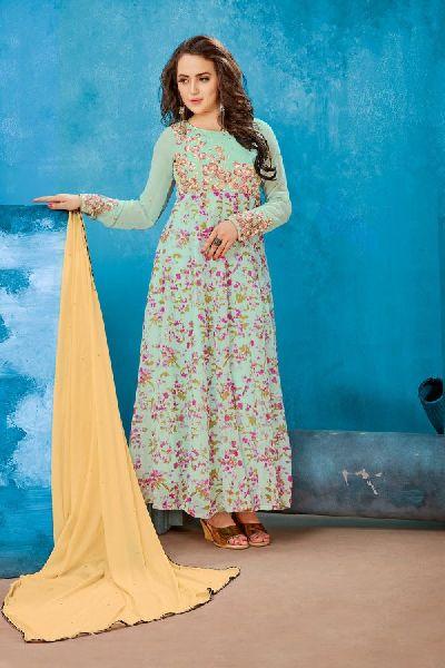 Ladies Party Wear Gown Manufacturer In Delhi Delhi India By Yash