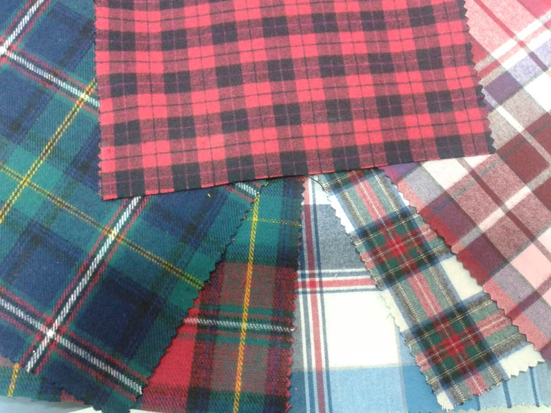Cotton Checks Twill Fabrics (Winter)