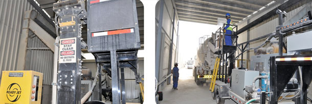 EADY JET MIXER DRUM CLEANING SYSTEM