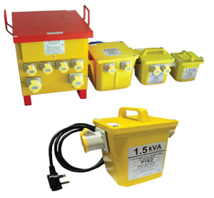 Power Tool Safety Transformers